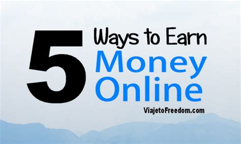 How To Make More Money Online From Home - viaje to freedom make money online work from home