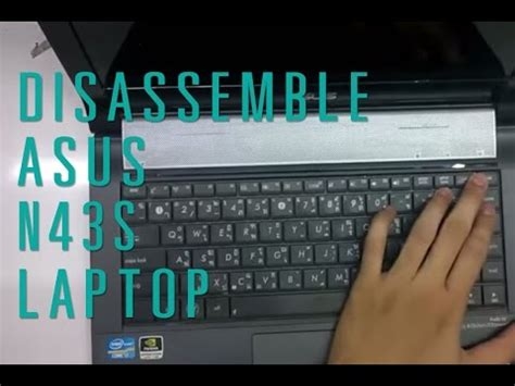 Laptop Asus N43s I3 how to take apart disassemble asus n43s laptop asurekazani