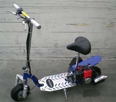 gas scooter with seat gas scooter 2 stroke with adjustable seat fully