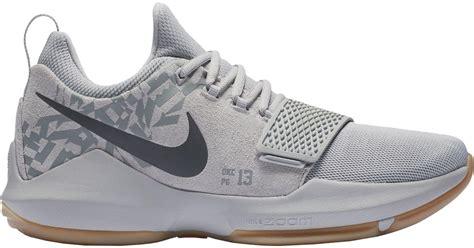 Free Shoes Bag Sepatu Basket Nike Pg 1 Paul George Lightning lyst nike pg 1 basketball shoes in gray for