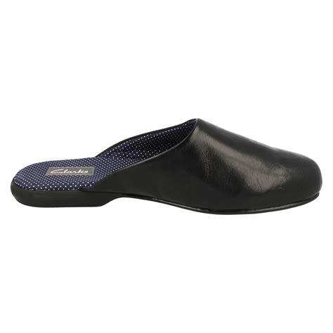 mens slide slippers mens clarks mule slippers harston slide ebay