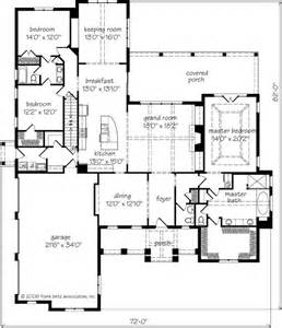 southern living floorplans magnolia springs frank betz associates inc southern living house plans