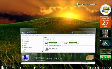 download themes vista glassglow rc1 theme free download