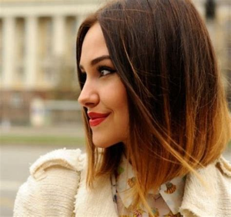 pictures of diangle bob with ombre color ombr 233 bob beauty pinterest bobs and love