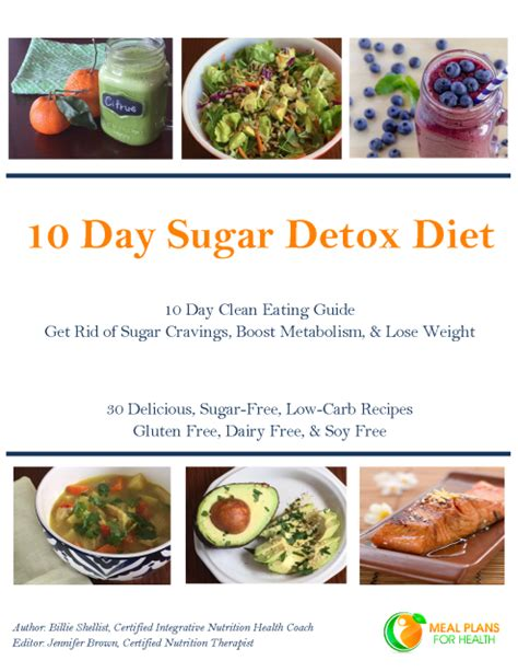 10 Day Sugar Detox Meal Plan by 10 Day Sugar Detox Diet Ebook