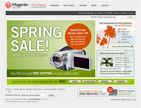 magneto template 25 magento templates for your e commerce business