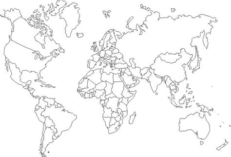 printable world map with country names black and white http www free printable maps com world maps world3 gif