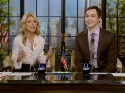kelly ripas new fill in co hosts jim parsons david kelly ripa s favorite co host jim parsons talks adult