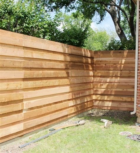 Japanese Traditional Kitchen by The Backyard A New Horizontal Fence Hi Sugarplum
