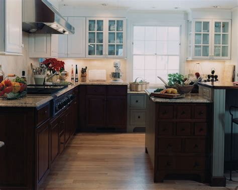 White French Country Kitchen Cabinets by Antique Country Kitchen Currier Kitchens