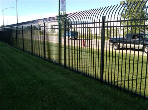 large fence large commercial fencing project cardinal fence supply inc