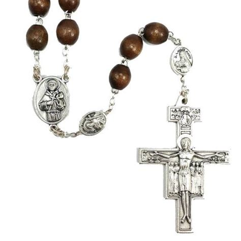 st francis rosary masculine st francis and st clare rosary