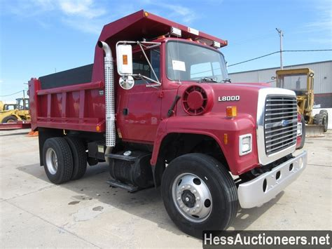 ford l9000 dump truck for sale used 1997 ford l9000 s a steel dump truck for sale in pa