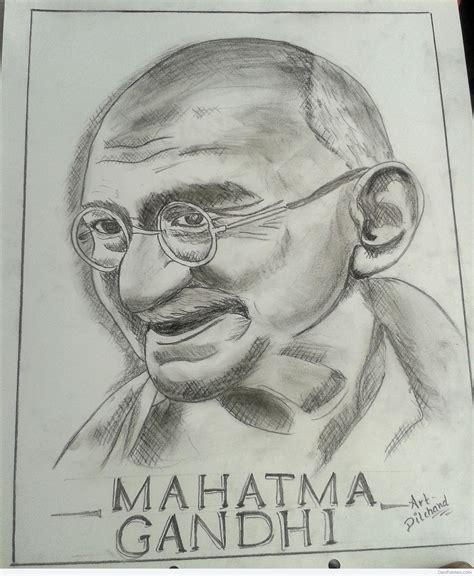 biography sketch of mahatma gandhi pics for gt mahatma gandhi pencil shading