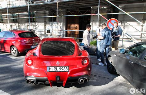 Fußmatten Auto Fc Bayern by Ferrari F12berlinetta 4 November 2014 Autogespot