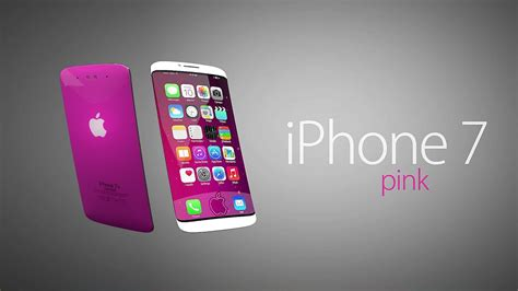 Iphone 7 7s Plus Future Armor new iphone 7 pink concept