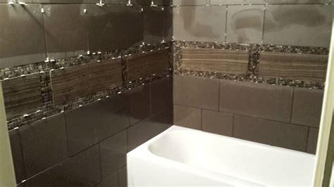 how to tile a bathroom wall youtube