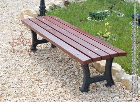 cast iron park bench outdoor cast iron park seat bench 711b fr