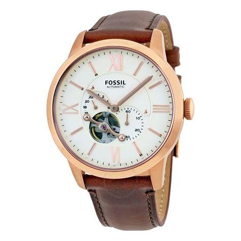 Do Terlaris Fossil Me3085 Townsman Automatic fossil townsman beige automatic s me3105 townsman fossil watches jomashop