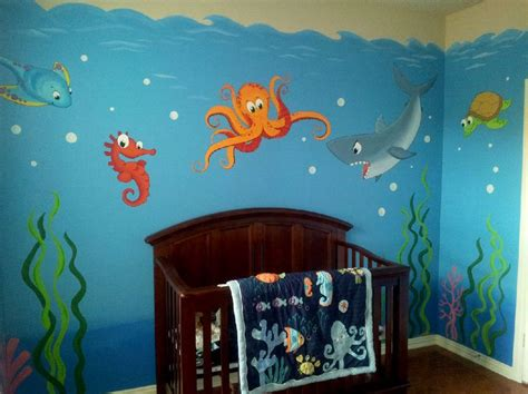 Wall Mural Kids underwater mural kids rooms pinterest underwater