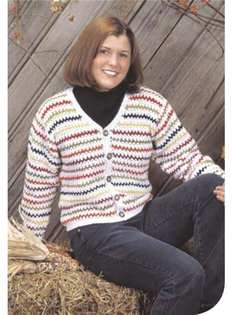 Zig Zag Cardigan Pattern | crochet winter cardigan sweater patterns for women zig
