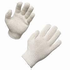 Sarung Tangan Kerja Benang Putih jual sarung tangan benang harga murah