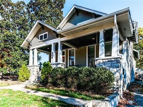 remodeled 1915 craftsman bungalow in nashville with a