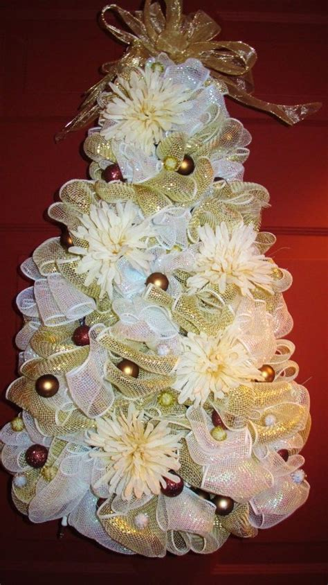 78 ideas about mesh christmas tree on pinterest deco