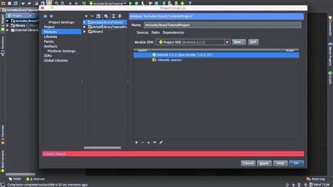 android studio import library importing library into an android studio project
