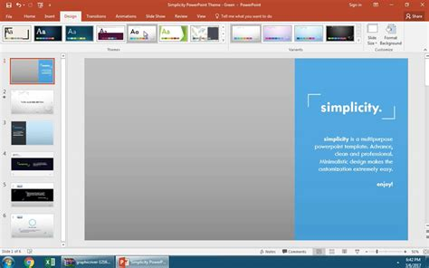 How To Change Your Powerpoint Template In 60 Seconds Modify Template Powerpoint