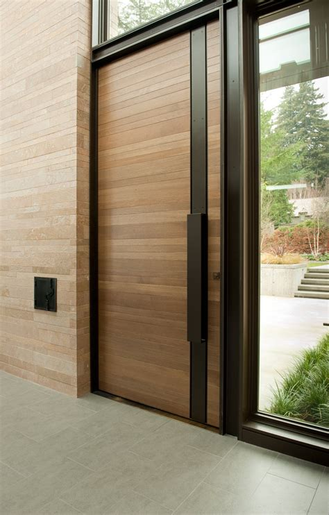 Timber Exterior Doors 50 Modern Front Door Designs