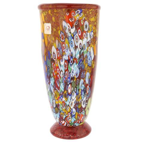 murano vase murano glass vases murano millefiori glass vase