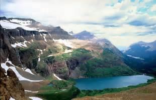 Helen lake glacier national park montana