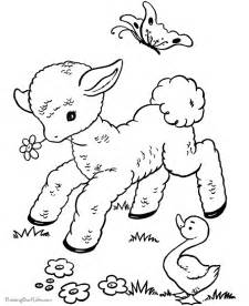 printable coloring pages easter 002