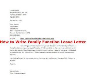 festival leave letter sle