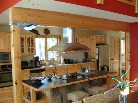 knotty pine cabinets granite counter top traditional knotty pine cabinets loccie better homes gardens ideas