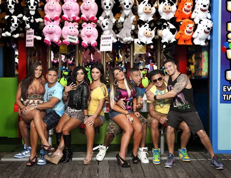 jersey shore cast cast of jersey shore offer advice to buckwild cast