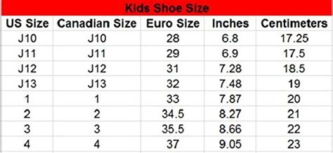 average shoe size for average shoe size for 9 year 28 images 11 best size