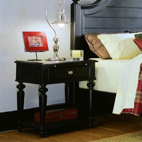 camden bedroom furniture american drew camden black wood panel bed 3 piece bedroom