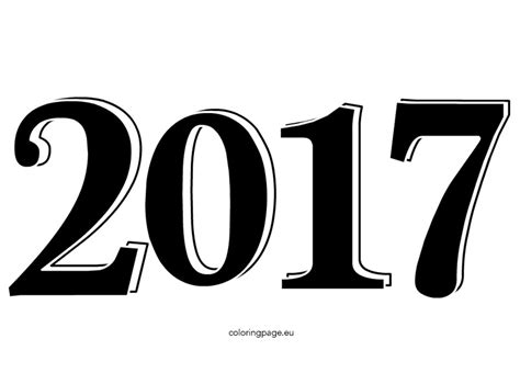 New Year 2017 Clipart