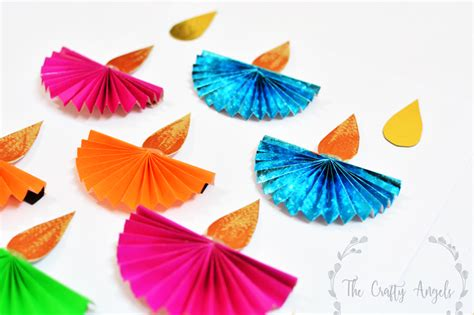 How To Make A Diwali L With Paper - diwali paper craft 28 images innovative and beautiful