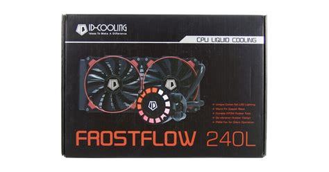 Id Cooling Frostflow 240l id cooling frostflow 240l cpu liquid cooler review
