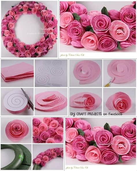 How To Make Small Flowers Out Of Paper - diy paper spiral and decoration flower flower