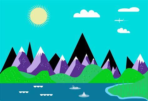 clipart graphics free landscape clip vector cliparts