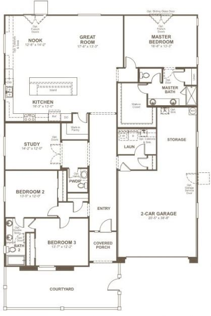 richmond homes floor plans white homes home plans ideas