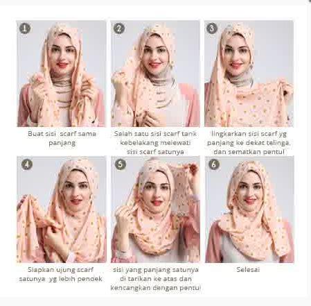 tutorial foto berhijab foto tutorial hijab modern sederhana terbaru 2015 new