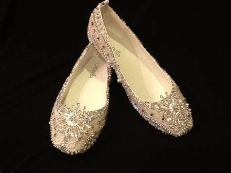 bridal shoes flats rhinestones wedding shoes bridal flats beaded rhinestones embellished