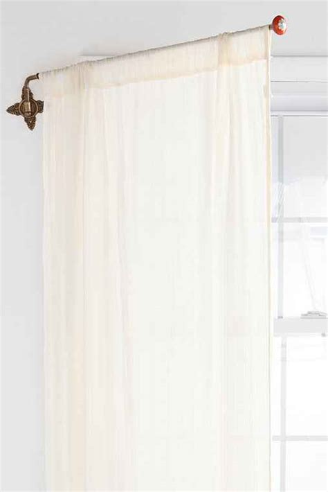 swing away curtain rods brass crisscross swing curtain rod urban outfitters