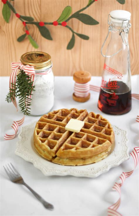 Waffle Cabin Recipe by Cabin Waffles Diy Waffle Mix Sprinkle Bakes