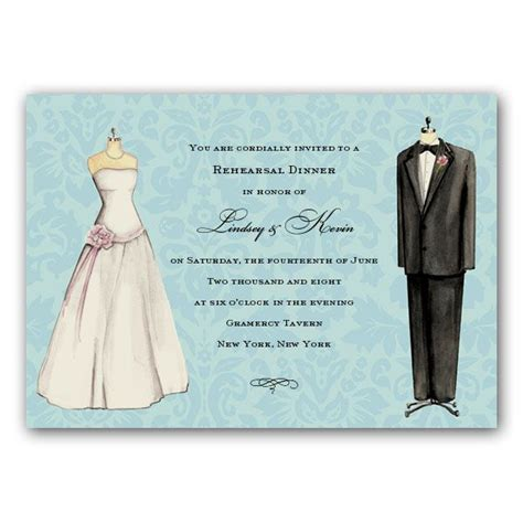 Wedding Attire Announcement by Wedding Attire Invitations Clearance Paperstyle